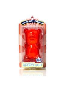 Ночник GummyGoods Mustachifier, красный