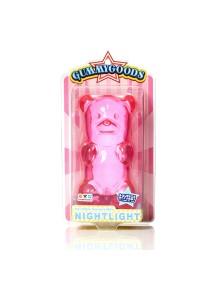 Ночник GummyGoods Mustachifier, розовый