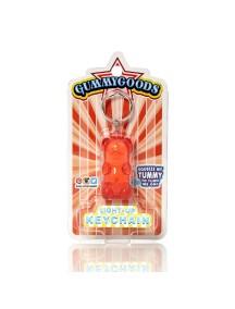 Брелок с подстветкой GummyGoods Mustachifier, красный