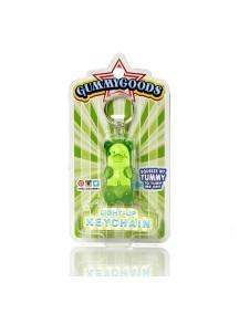 Брелок с подстветкой GummyGoods Mustachifier, зеленый