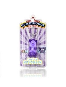 Брелок с подстветкой GummyGoods Mustachifier, фиолетовый