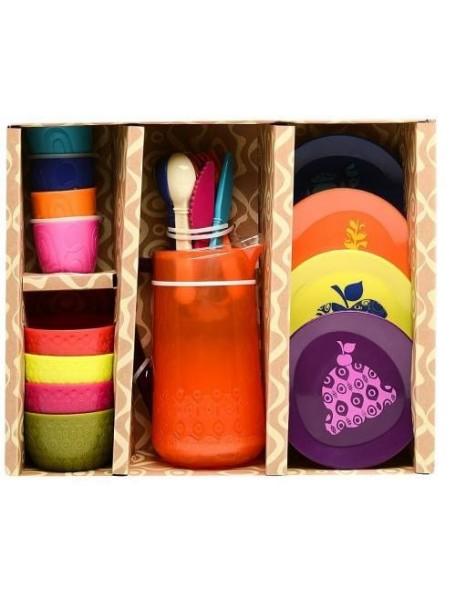Флоренция - универсальный дом для кукол (для мини-кукол и для Барби), DY-0103, с мебелью и куклами, PAREMO