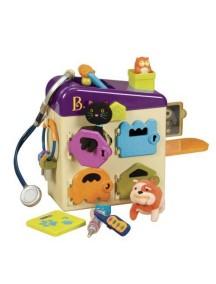 Чемоданчик-ветеринарный набор с фиолетовой крышкой, B Dot