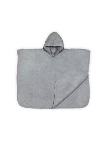 Полотенце-пончо Jollein 60 х70 см  / Grey (Серый)