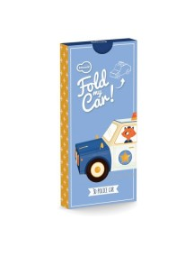3D-игрушка в плоской упаковке FOLD MY Полицейская машина, Krooom