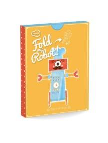 3D-игрушка в плоской упаковке FOLD MY Робот шеф-повар, Krooom