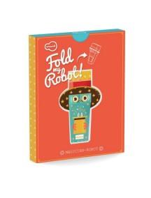 3D-игрушка в плоской упаковке FOLD MY Робот фокусник, Krooom