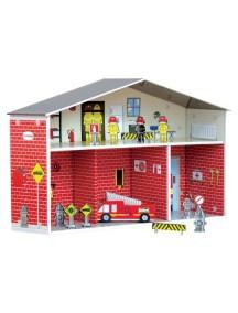 Игровой набор Пожарная часть Дилан, Krooom