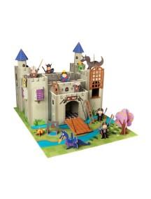 Игровой набор Рыцарский замок Артура, Krooom