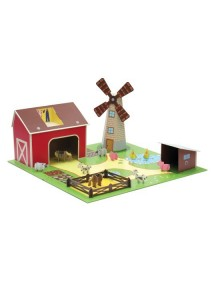 Игровой набор Ферма с животными, Krooom