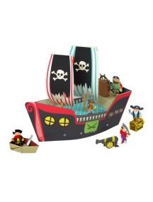Игровой набор Пиратский корабль Купер, Krooom