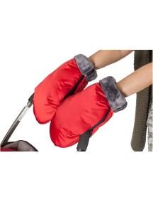 Муфта-рукавички. Цвет: Красный