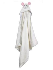 Полотенце с капюшоном для малышей (0-18 мес.). Овечка Лола (Lola the Lamb)