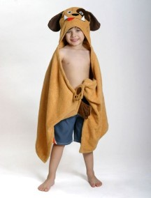 Полотенце с капюшоном для детей (от 2 лет) Zoocchini. Собачка Даффи (Duffy the Dog)