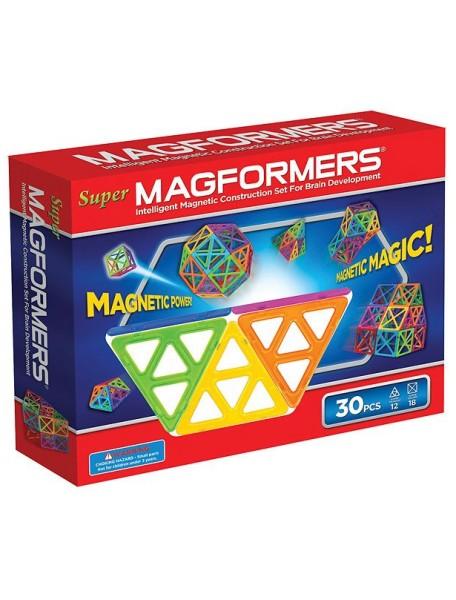 Магнитный конструктор MAGFORMERS 63078 Набор Супер - 30