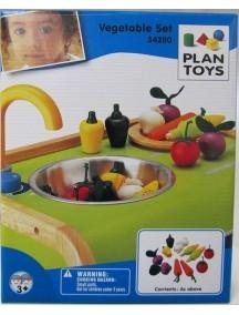 Деревянный игрушечный набор овощи Plan Toys