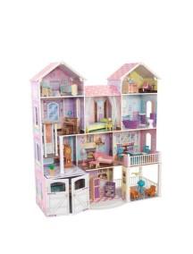Дом для классических кукол до 32 см «Загородная усадьба» (Country Estate) с мебелью KidKraft