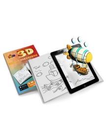 3D оживающая Книга-раскраска «Живая раскраска» Devar Kids