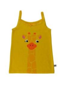 Набор майка/трусы Zoocchini для девочек (Жираф/Мармелад)