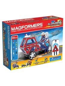 Магнитный конструктор MAGFORMERS 63079 XL Cruisers Emergency Set (Служба спасения)