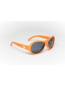 Солнцезащитные очки Бэбиаторс Авиаторы Ухты! оранжевый  0-2 лет (Babiators Original Aviator OMG!)