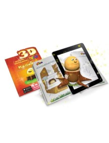3D Сказка-раскраска «Колобок» Devar Kids
