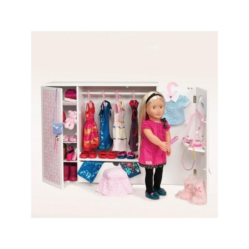 Гардероб для кукол своими руками
