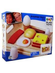Деревянный игрушечный набор Завтрак Plan Toys