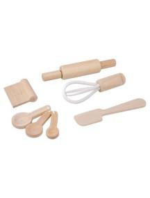 Деревянный игрушечный набор Кулинарные принадлежности Plan Toys
