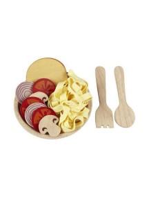 Деревянный игрушечный набор Спагетти с овощами Plan Toys