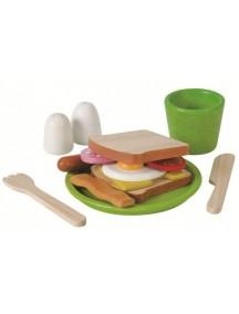 Сюжетно-ролевая игра Завтрак Plan Toys