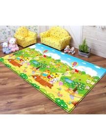 "Dwinguler ""Big-15"" Коврик игровой детский развивающий (2300х1400х15)  Tiger Picnic / Пикник тигрят"