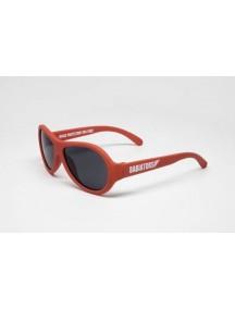 Солнцезащитные очки Бэбиаторс Авиаторы Рок-звезда красный  0-2 лет (Babiators Original Aviator Rockstar)