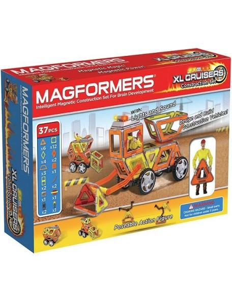 Магнитный конструктор MAGFORMERS 63080 Набор Круизер Строители