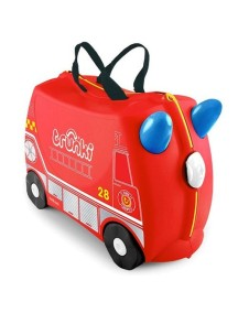 """Trunki """"Frank - Пожарная машина"""" Детская каталка-чемодан"""