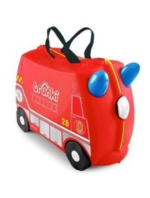 """Trunki """"Frank - Пожарная машина"""" Детская каталка-чемодан Транки"""