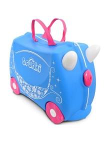Trunki Pearl - Жемчужная карета Детская каталка-чемодан  Транки