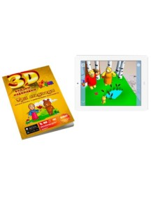 3D оживающая Сказка-раскраска «Маша и три медведя» Devar Kids