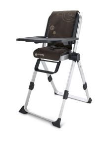 Concord, Spin Chocolate Brown 2015 Самый компактный в мире стульчик для кормления, Шоколадный