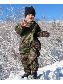 Детский непромокаемый комбинезон Мадди-Бадди от Tuffo, Канада (камуфляж)