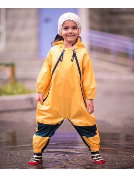 Детский непромокаемый комбинезон Мадди-Бадди от Tuffo, Канада (желтый)