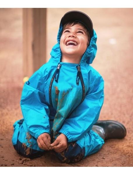 Детский непромокаемый комбинезон Мадди-Бадди от Tuffo, Канада (синий)