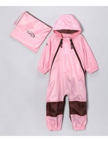 Детский непромокаемый комбинезон Мадди-Бадди от Туффо  (Muddy-Buddy Tuffo), Канада (розовый)