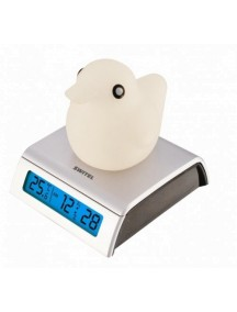 Светящийся термометр-часы с будильником для детской Switel (Свител)