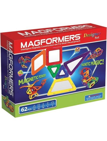 Магнитный конструктор MAGFORMERS 63081 Дизайнер сет