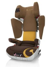 Автокресло детское Concord Transformer XT Coconut Brown 2014 (Конкорд Трансформер ИксТи). Цвет Коричневый. От 3 до 12 лет.