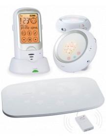 Радионяня с двумя детскими блоками и монитором дыхания Ramili Baby RA300DUOSP (Рамили)