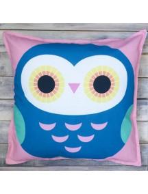 Интерьерная подушка ручной работы, Little Owl №10 50 х 50 см