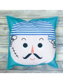 Интерьерная подушка ручной работы, Sailor 50 х 50 см