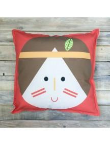 Интерьерная подушка ручной работы, Girl №1 50 х 50 см